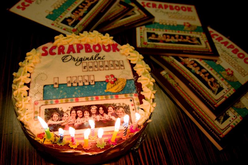 Narozeninový dort naší knížky - handmade by Píďa